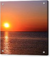 Multi-colored Sunset Acrylic Print