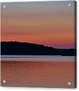 Multicolor Sunset Acrylic Print