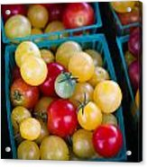 Multicolored Baby Tomatoes Acrylic Print