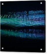 Munro River Reflections 1 Acrylic Print