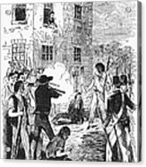 Murder Of Smith, 1844 Acrylic Print by Granger