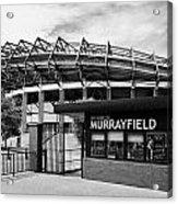 Murrayfield Stadium Edinburgh Scotland Uk United Kingdom Acrylic Print by Joe Fox