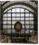 Musee D'orsay's Clock Acrylic Print
