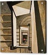 Museum Stairs Acrylic Print