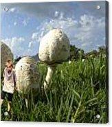 Mushroom Boy Acrylic Print