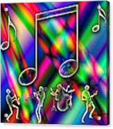 Music Acrylic Print by Anthony Caruso
