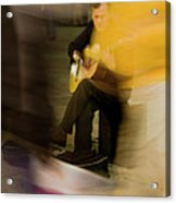Music In The Flow Of Motion Acrylic Print