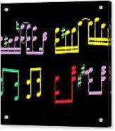 Musical Notes Acrylic Print