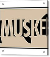 Muskellunge Acrylic Print