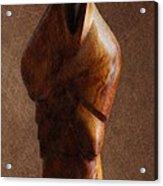 Muslim Figurine Acrylic Print