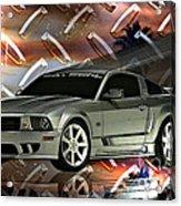 Mustang Saleen  Acrylic Print