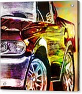 Mustang_2 Acrylic Print by Whitney Bruneau