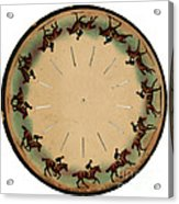 Muybridge Zoopraxiscope Horse Acrylic Print