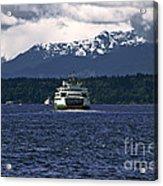 MV Kaleetan Ferry Acrylic Print