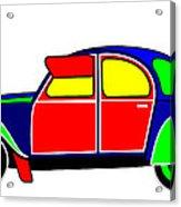 My Dream Car Acrylic Print