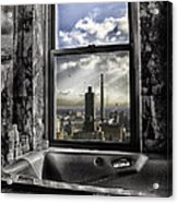 My Favorite Channel Is Manhattan View Acrylic Print