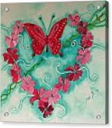 My Heart Has Been Pierced By Love Acrylic Print