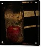 My Hidden Apple  Acrylic Print