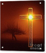 My Life Cross Acrylic Print