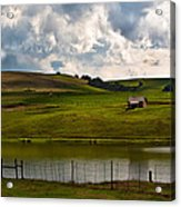 My Little Hut In The Midlands Acrylic Print by Miguel Capelo