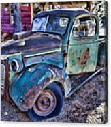 My Old Truck Acrylic Print by Garry Gay