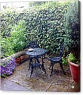 My Patio Acrylic Print