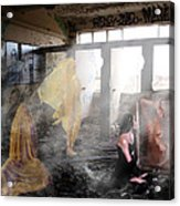 My Reflection Ghosts Of Girlfriends Past Acrylic Print