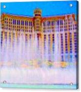 My Vegas Bellagio 2 Acrylic Print