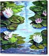 My Waterlilies Acrylic Print