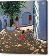 Mykonos Monastery Acrylic Print