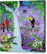 Mysterious Jungle Acrylic Print