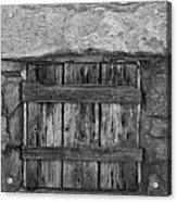 Mystery Door Acrylic Print