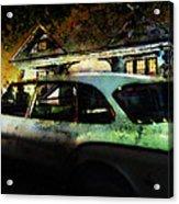 Mystety Night Acrylic Print