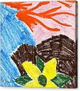 Mystic Flower Acrylic Print