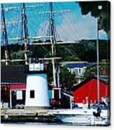 Mystic Seaport Ct Acrylic Print