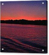 Mystic Sunset Acrylic Print