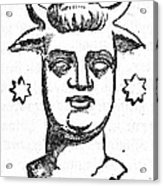 Mythology: Baal Acrylic Print