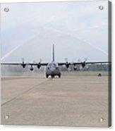 N Air Force C-130e Hercules Acrylic Print
