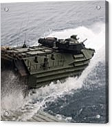N Amphibious Assault Vehicle Departs Acrylic Print