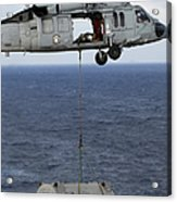 N Mh-60s Sea Hawk En Route Acrylic Print