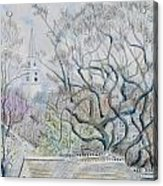 Nantucket Roof -tops  Acrylic Print