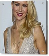 Naomi Watts At Arrivals For Afi Fest Acrylic Print by Everett