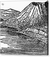 Naples: Monte Nuovo, 1887 Acrylic Print