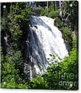 Narada Falls Through The Trees Acrylic Print