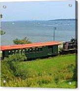 Narrow Gauge Railroad Portland Maine Acrylic Print