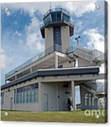 Nasa Air Traffic Control Tower Acrylic Print by Nasa