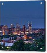 Nashville Cityscape 7 Acrylic Print
