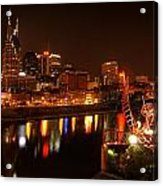Nashville Lights Acrylic Print