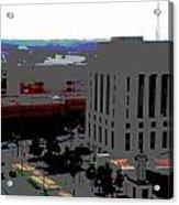Nashville Posterized  Acrylic Print