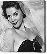 Natalie Wood, Warner Brothers, 1950s Acrylic Print by Everett